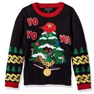 NWT Boys Ugly Christmas Sweater Santa  7 XL